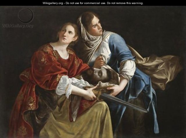 Judith And Her Maidservant With The Head Of Holofernes -  after    Judith And Her Maidservant With The Head Of Holofernes