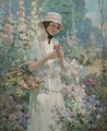 Woman With Flower Basket - Abbott Fuller Graves