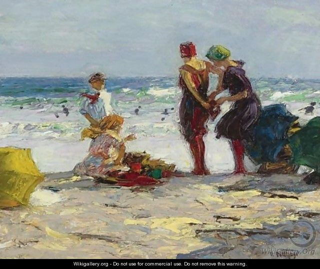 The Bathers 3 - Edward Henry Potthast