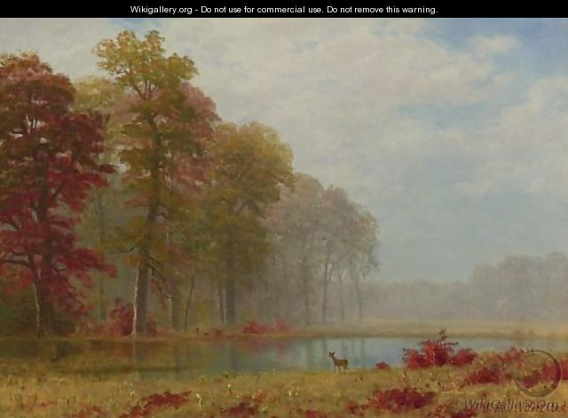 Autumn On The River - Albert Bierstadt