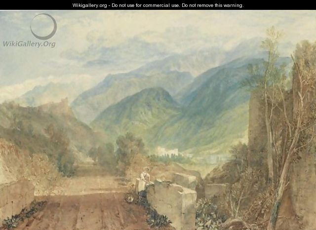 Bonneville, Savoy 2 - Joseph Mallord William Turner