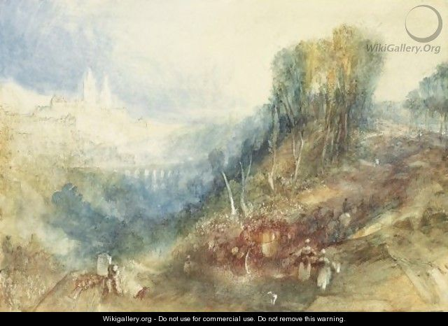 Lausanne From The West - Joseph Mallord William Turner