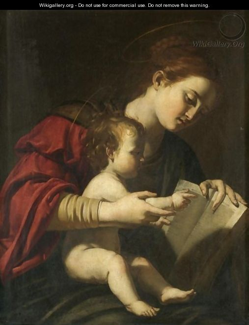 The Madonna And Child 4 - Roman School