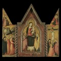 The Madonna And Child With Saints John The Baptist And Catherine - Bicci Di Lorenzo