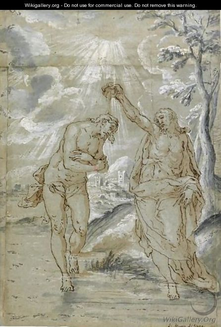 The Baptism Of Christ - Marco Pino