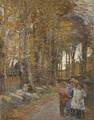 In The Lane - Elizabeth Stanhope Forbes