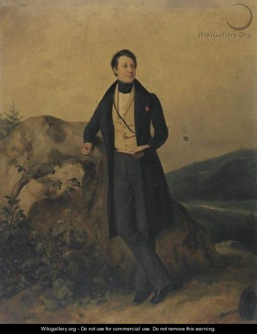 Portrait Of A Man - Pierre Duval-Lecamus