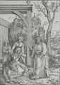 Christ Taking Leave Of His Mother 3 - Albrecht Durer