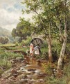 The Old Mill At Betws-Y-Coed - Henry Hillier Parker