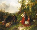 Gypsy Encampment - Samuel John Egbert Jones