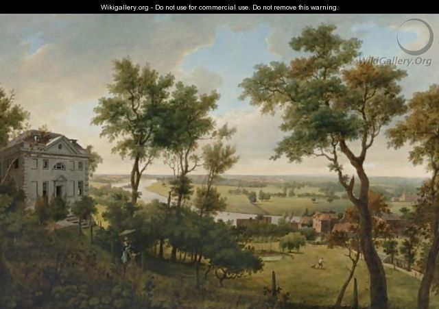 A View From Richmond, Looking Towards Twickenham - William Marlow