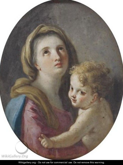 Madonna And Child - Francesco de Mura