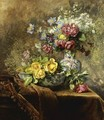 Still Life Of Flowers - Anna Peters