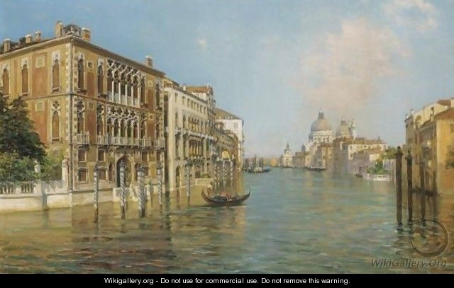 The Grand Canal - Bernardo Hay