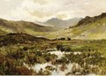 Snowdon From Capel Curig - Alfred de Breanski
