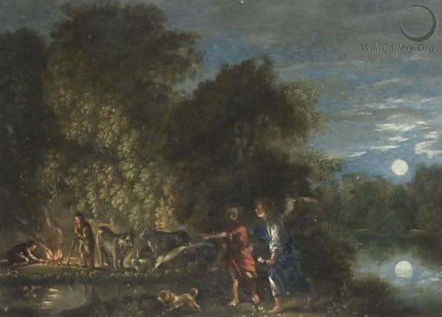 Tobias And The Angel 2 - (after) Adam Elsheimer