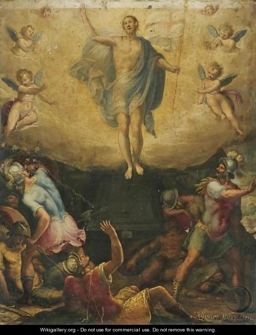 The Resurrection - (after) Federico Zuccaro