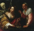 Vanitas, Allegory Of The Ages - (after) Giovanni Martinelli