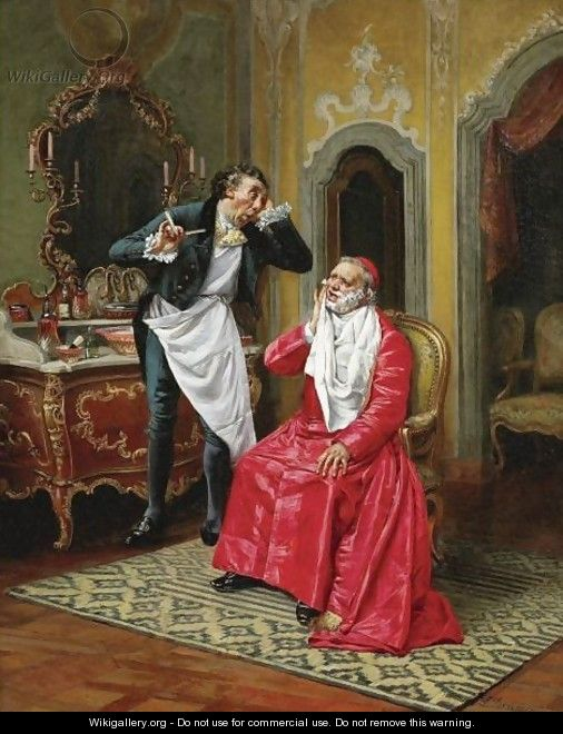 The Awkward Barber - François Brunery