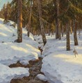 Winter Creek, 1915 - Ivan Fedorovich Choultse
