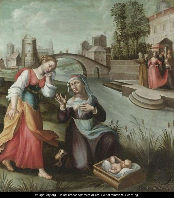 The Finding Of Moses - North-Italian School