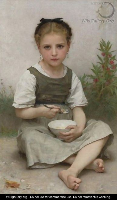 Le Dejeuner Du Matin - William-Adolphe Bouguereau