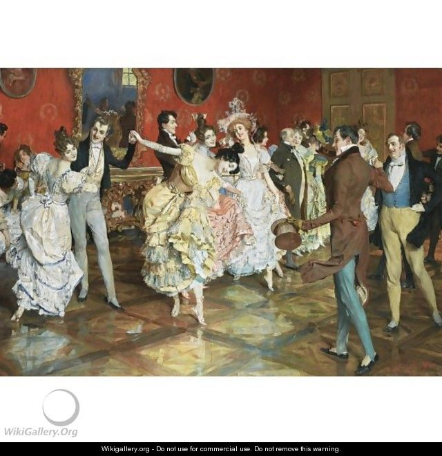 At The Ball - Leopold Schmutzler