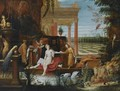 King David And Bathsheba - (after) Hendrik Van Balen, I