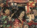 In Japan - Edward Atkinson Hornel