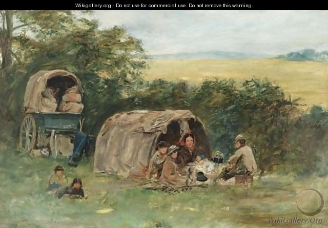 The Gypsy Camp - William McTaggart