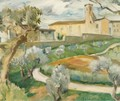 The Olive Grove, Provence - John Maclauchlan Milne