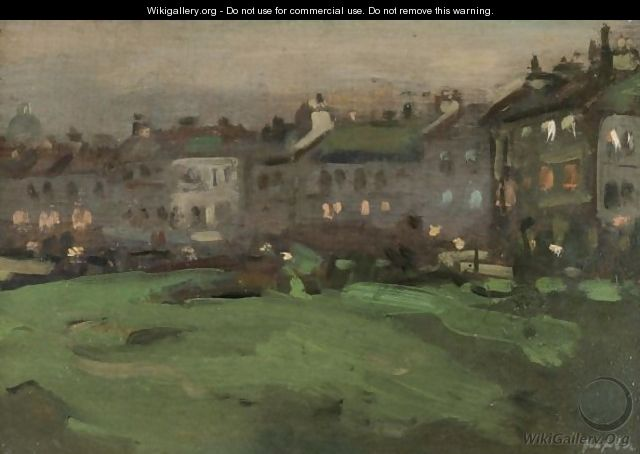 The Links At Dusk, North Berwick - Samuel John Peploe