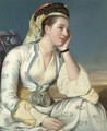 Portrait Of The Countess Of Coventry - (after) Etienne Liotard