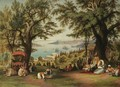 Panoramic View Of Constantinople - (after) Hubert Sattler