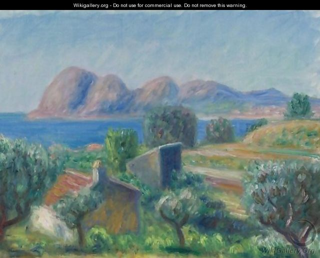 The Bay, La Ciotat - William Glackens