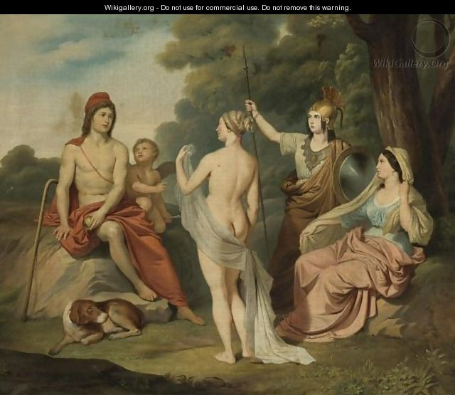The Judgment Of Paris - (after) David, Jacques Louis