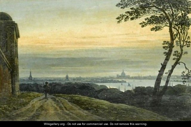 View Of Greenwich Looking Towards St. Paul