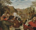 The Peasants' Brawl 2 - Pieter The Younger Brueghel