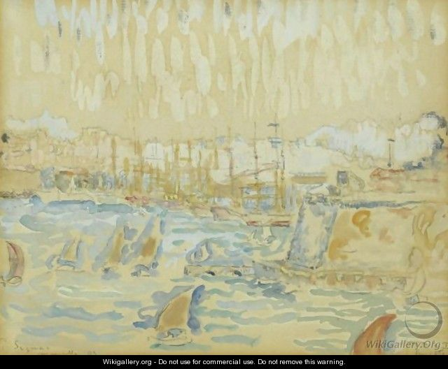 Port De Marseille - Paul Signac