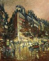 Paris By Night 8 - Konstantin Alexeievitch Korovin