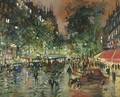 Parisian Boulevard By Night 2 - Konstantin Alexeievitch Korovin
