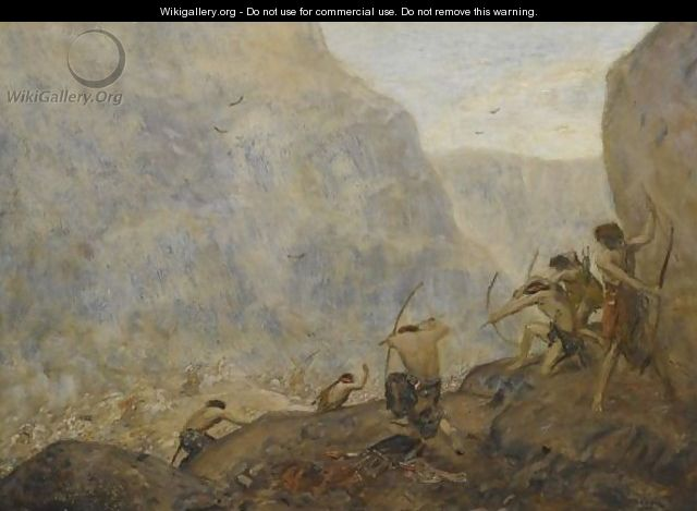 Warriors In The Mountains - Marius Bauer