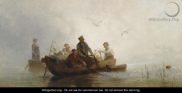 Hauling In The Nets - Julius Noerr
