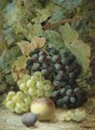 Still Life With Grapes - Oliver Clare