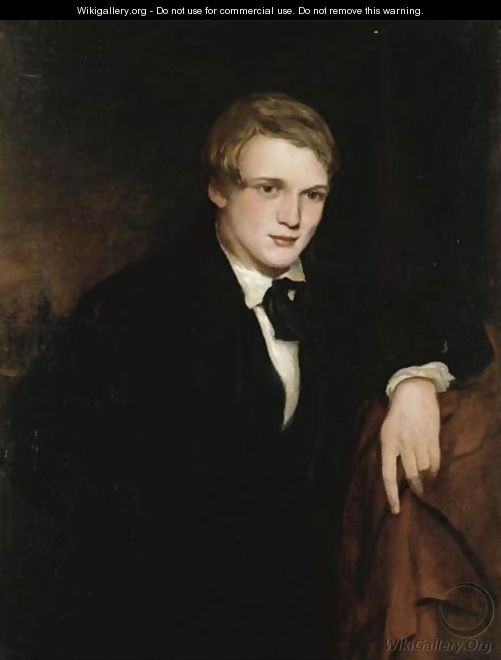 Portrait Of William Powell Frith As A Young Man - (after ...