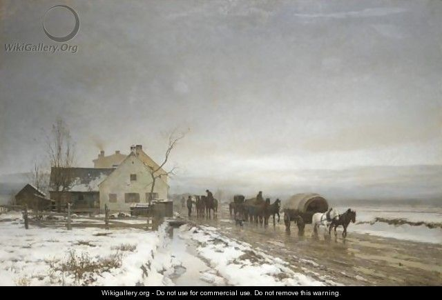 The Long And Wintery Road - Anders Anderson-Lundby
