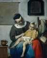 The Sick Child c. 1660 - Gabriel Metsu