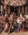 St Luke Painting the Virgin Mary 1602 - Maarten de Vos