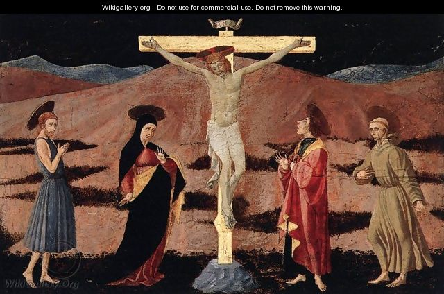Crucifixion 1460-65 - Paolo Uccello