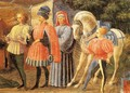 Adoration Of The Magi (Quarate Predella Detail) - Paolo Uccello